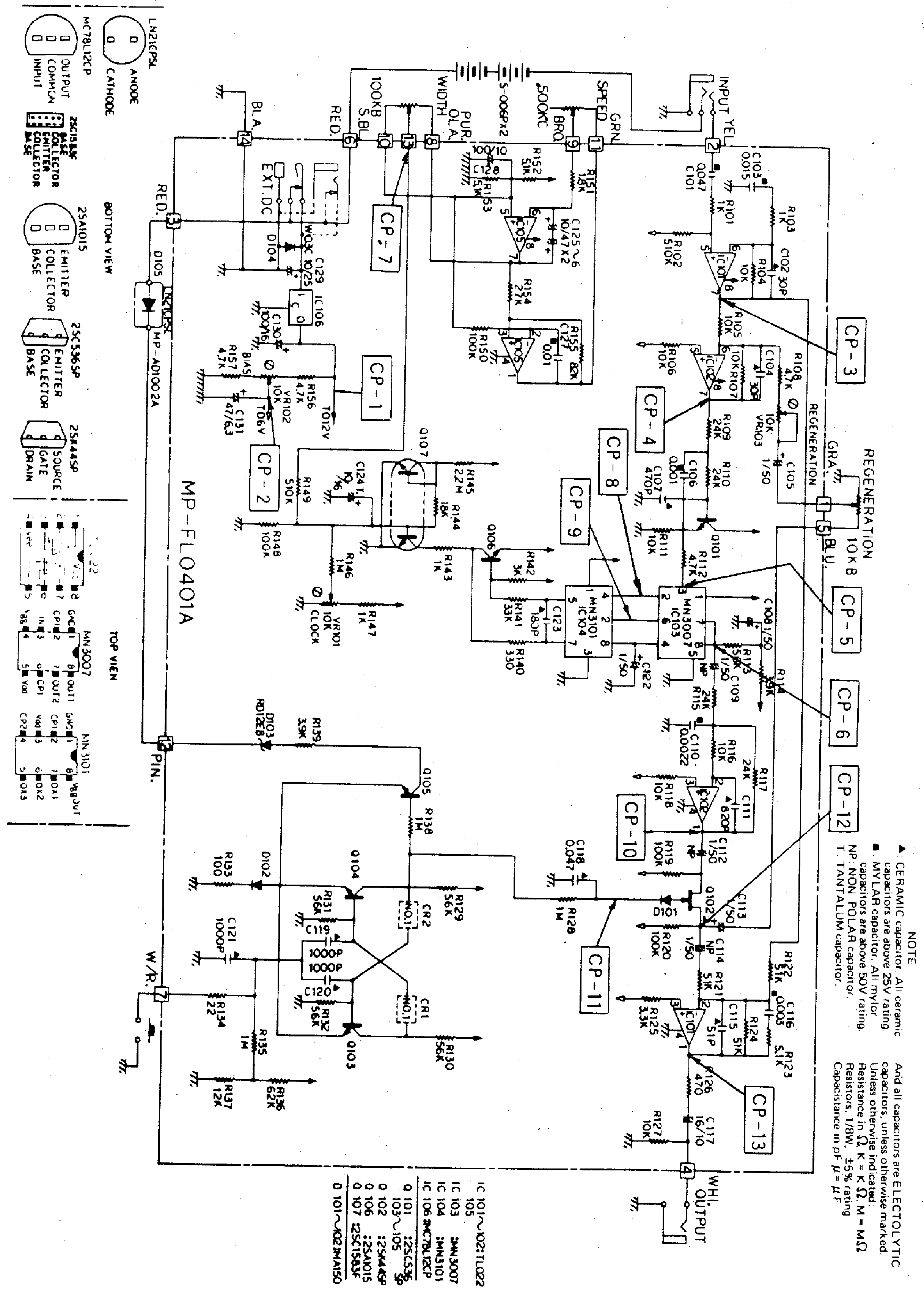 IBANEZ ST9 SCH Service Manual download, schematics, eeprom, repair