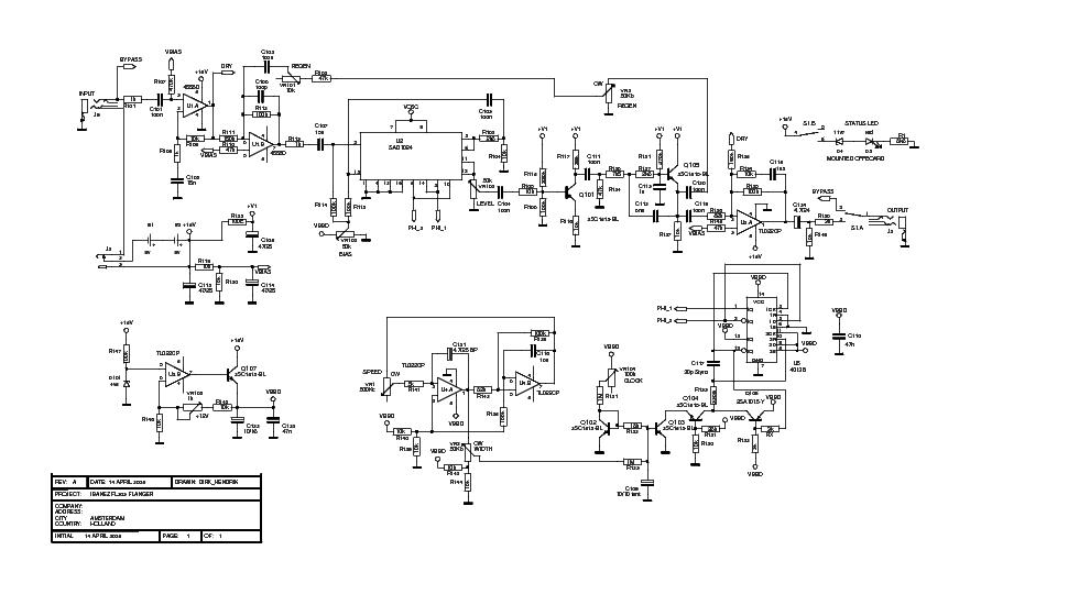 IBANEZ FL303 SCH Service Manual download, schematics, eeprom, repair