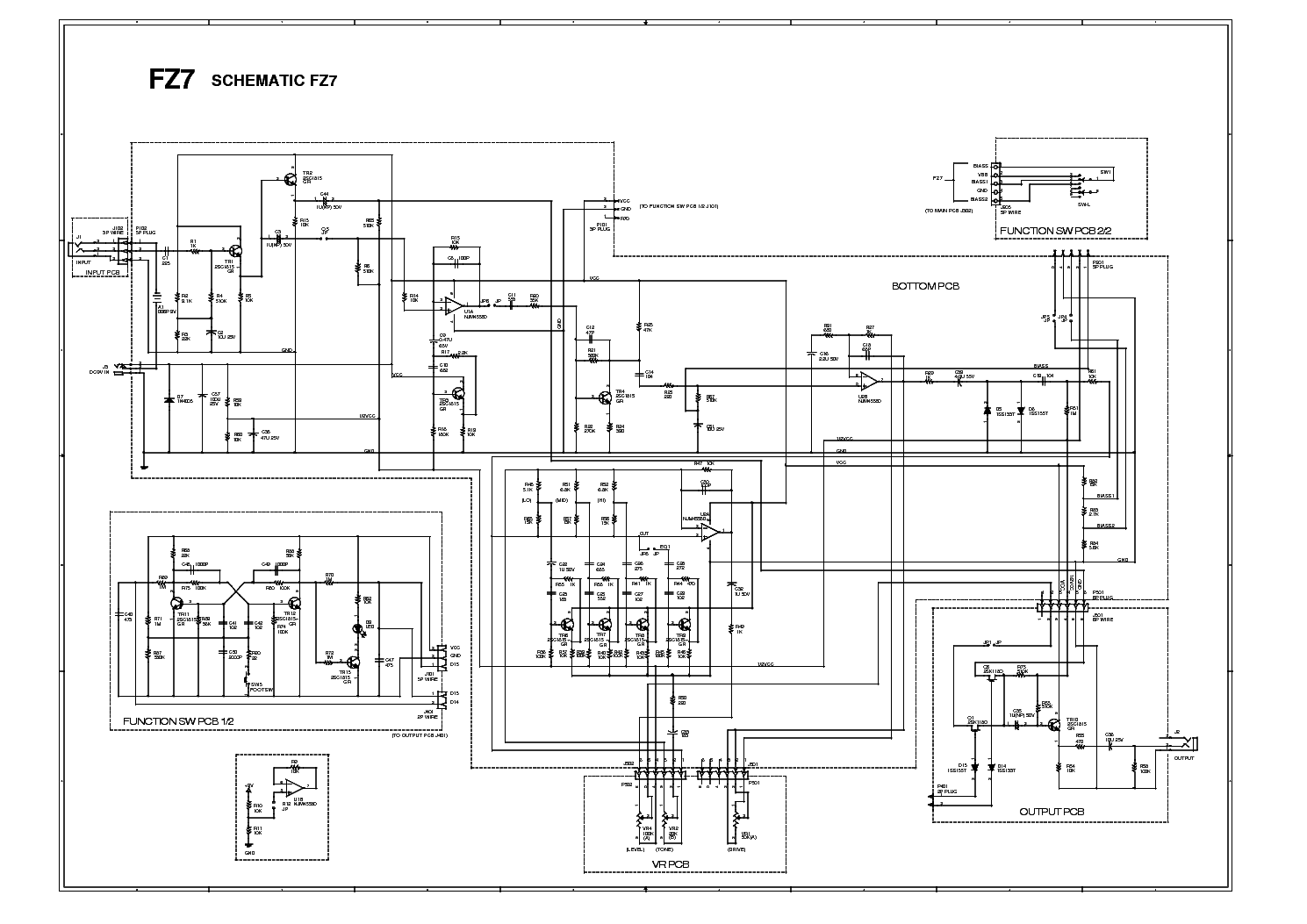 clone 'Damage' function of the Ibanez FZ7 Fuzz
