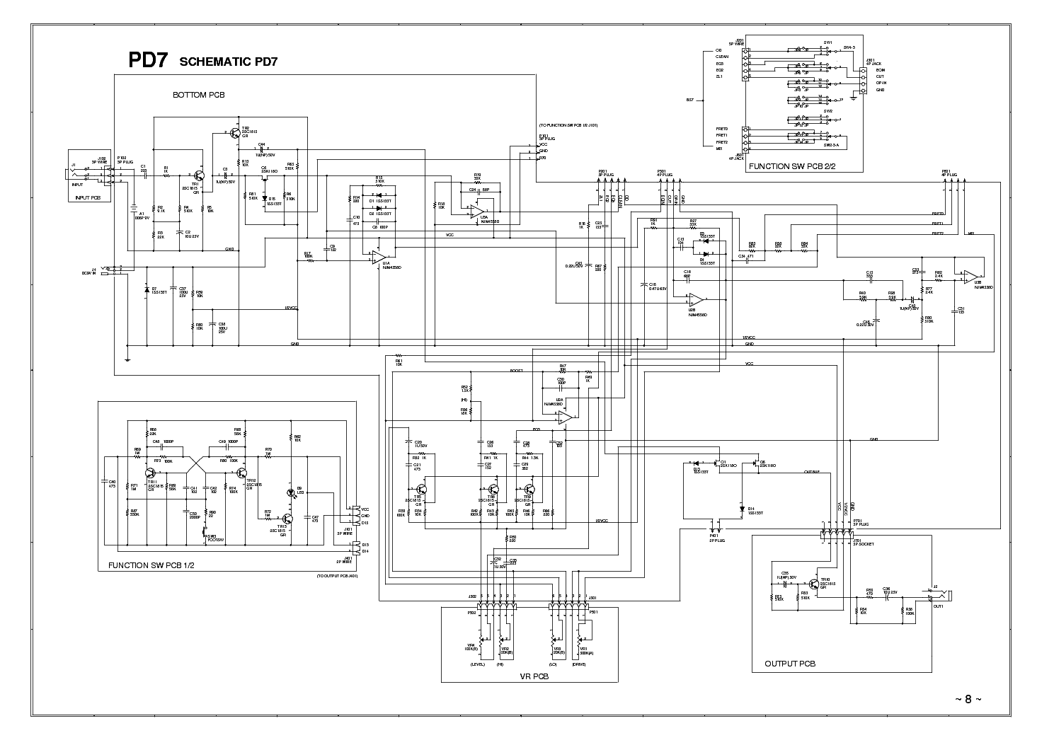 Ibanez Fz7 Schematic Smart Wiring Diagrams Grg Diagram Service Manual Download Schematics Eeprom Repair Info Rh Elektrotanya Com Gio