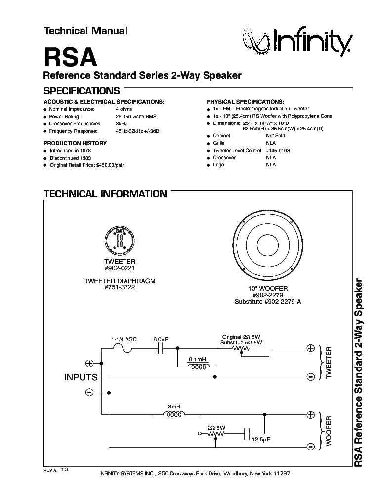 Infinity Rsa Speakers Audiokarma Home Audio Stereo