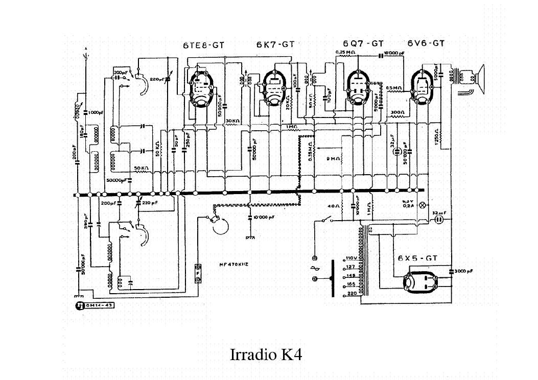 irradio dx5 fono am radio receiver sch service manual download  schematics  eeprom  repair info