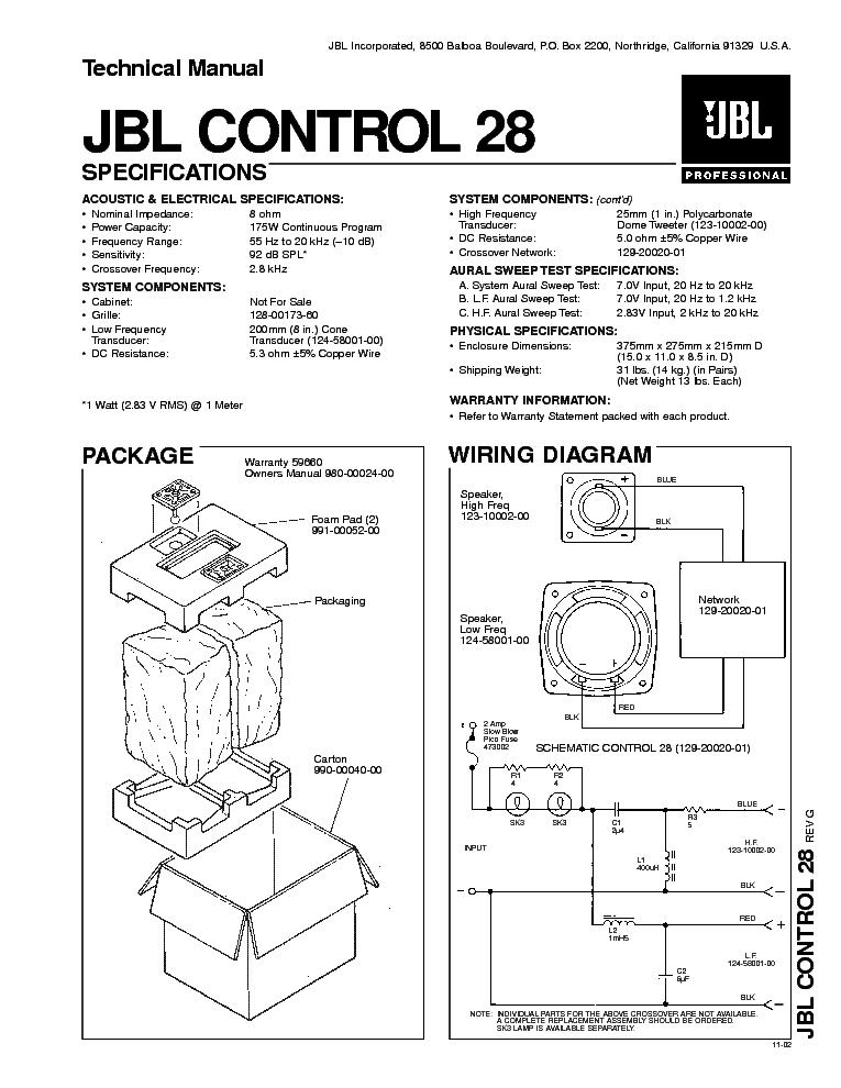 Jbl Subwoofer Wiring Diagram : Jbl or ohm subwoofer wiring free engine image
