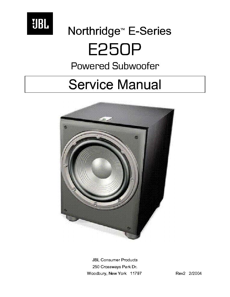 jbl e250p sm service manual download schematics eeprom repair rh elektrotanya com