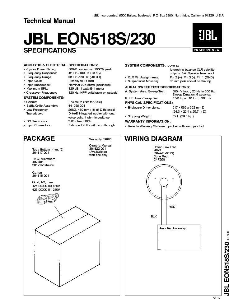 jbl eon518s 230 exploded view service manual download schematics rh elektrotanya com jbl eon g15 manual jbl eon 515 xt manual pdf