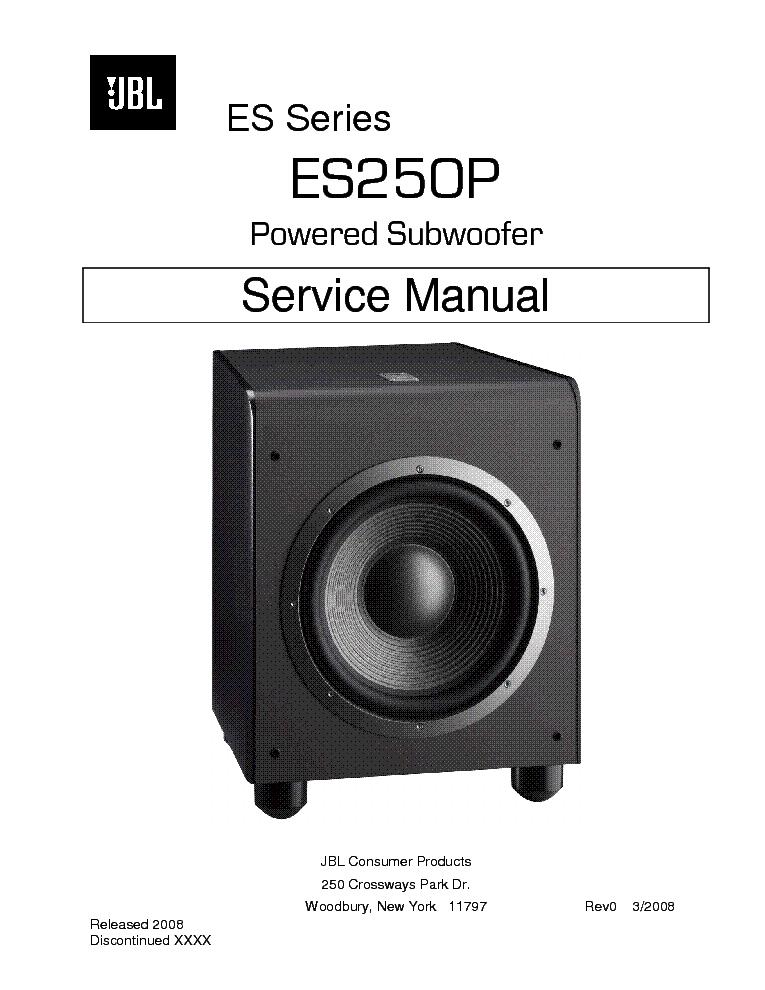 jbl es250p sm service manual download schematics eeprom repair info for electronics experts. Black Bedroom Furniture Sets. Home Design Ideas