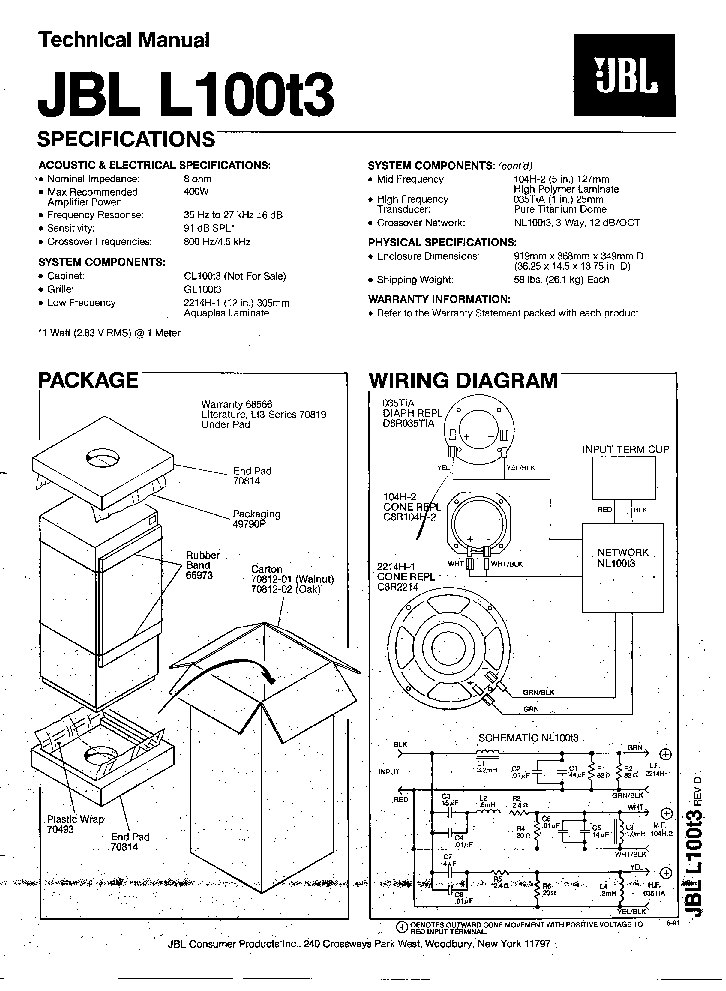 jbl l150 crossover schematic related keywords