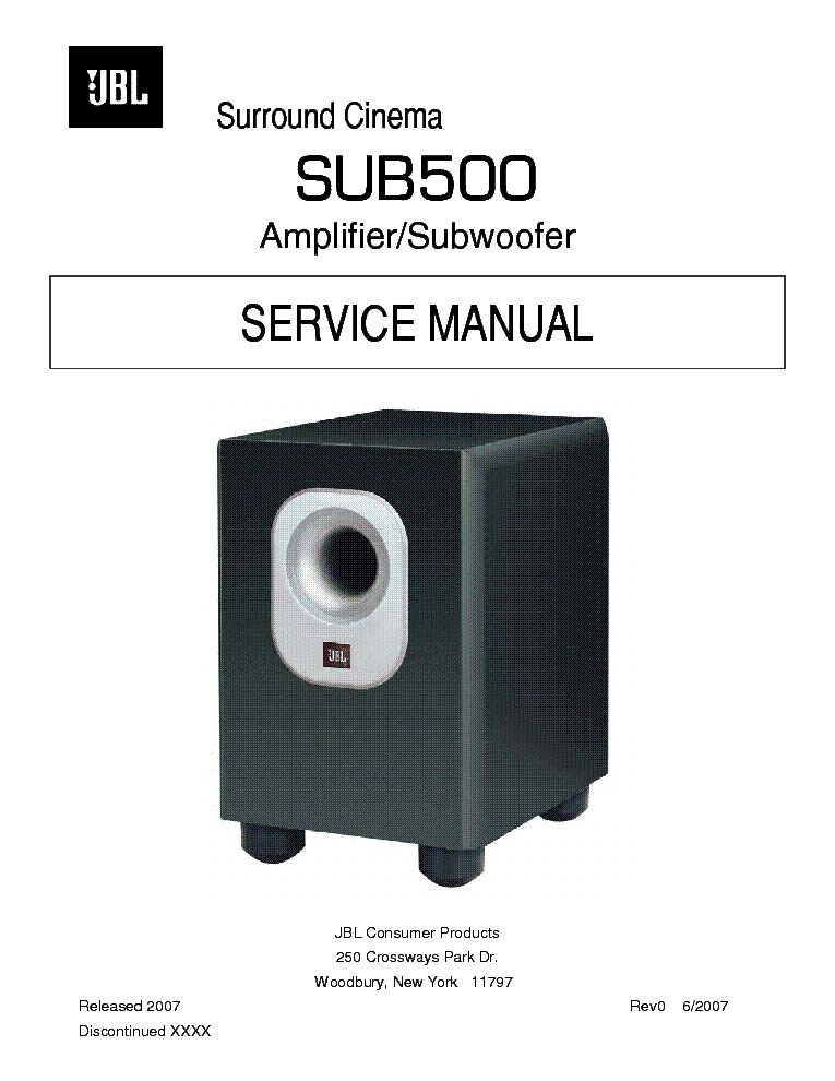 jbl subwoofer repair manual download free software blogspacks JBL PB12 Power On JBL Subwoofer