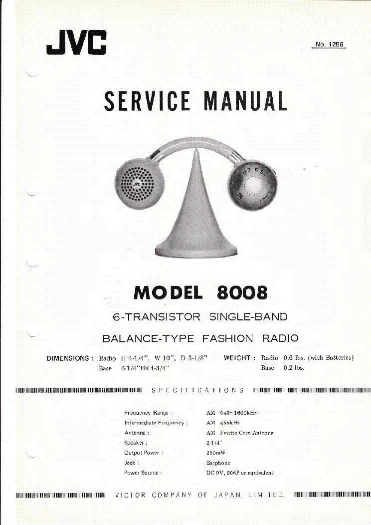 jvc a x900b service manual