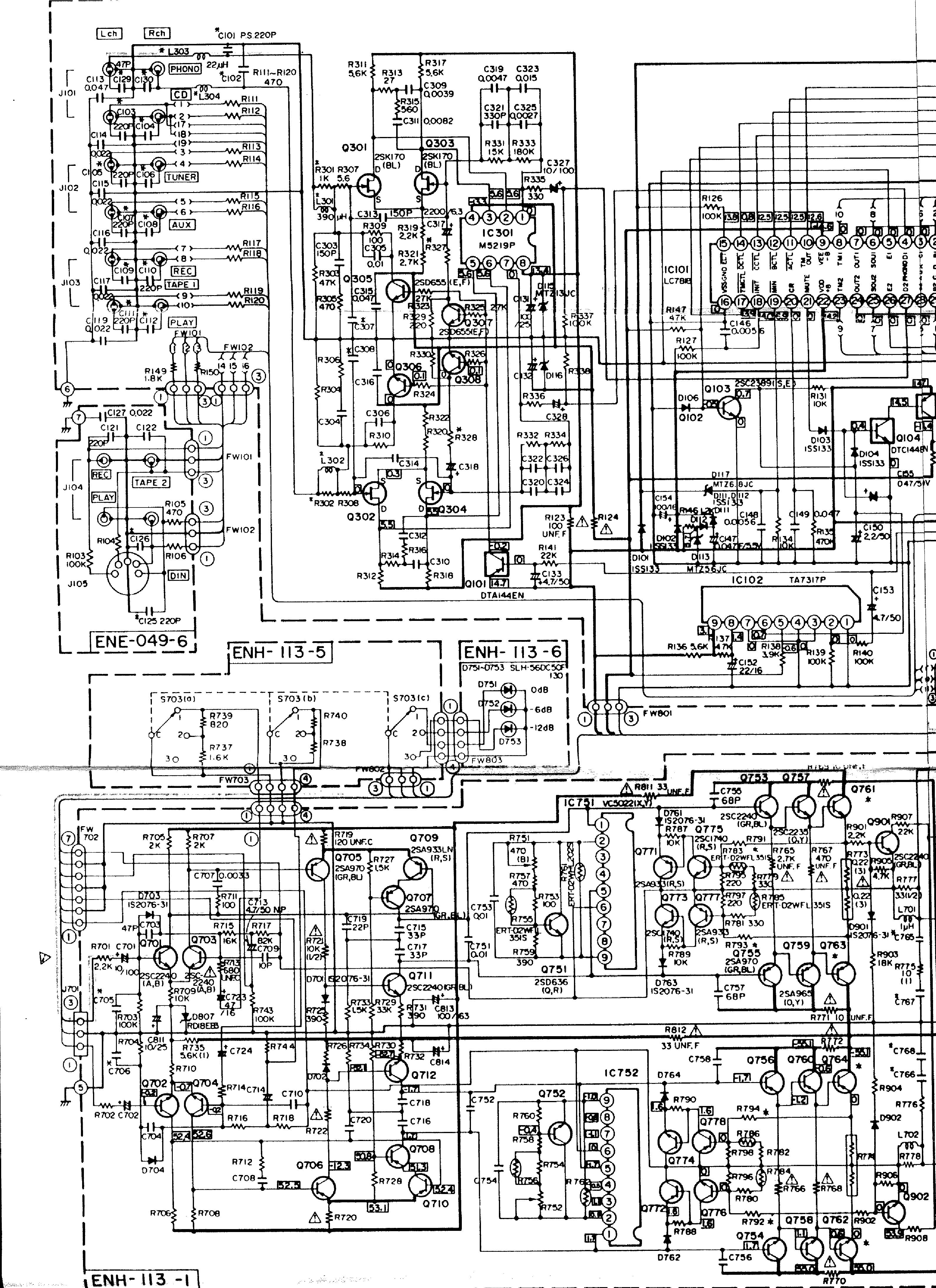JVC    AX555BK SCH Service    Manual    download     schematics