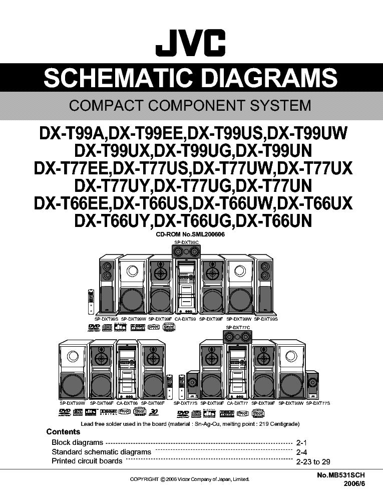 service manual jvc kd-x30