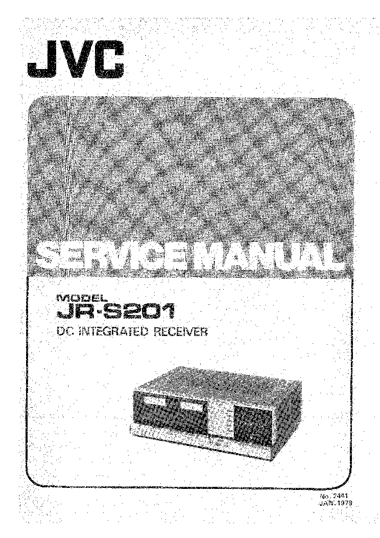 JVC JR-S201 SM EN service manual (1st page)