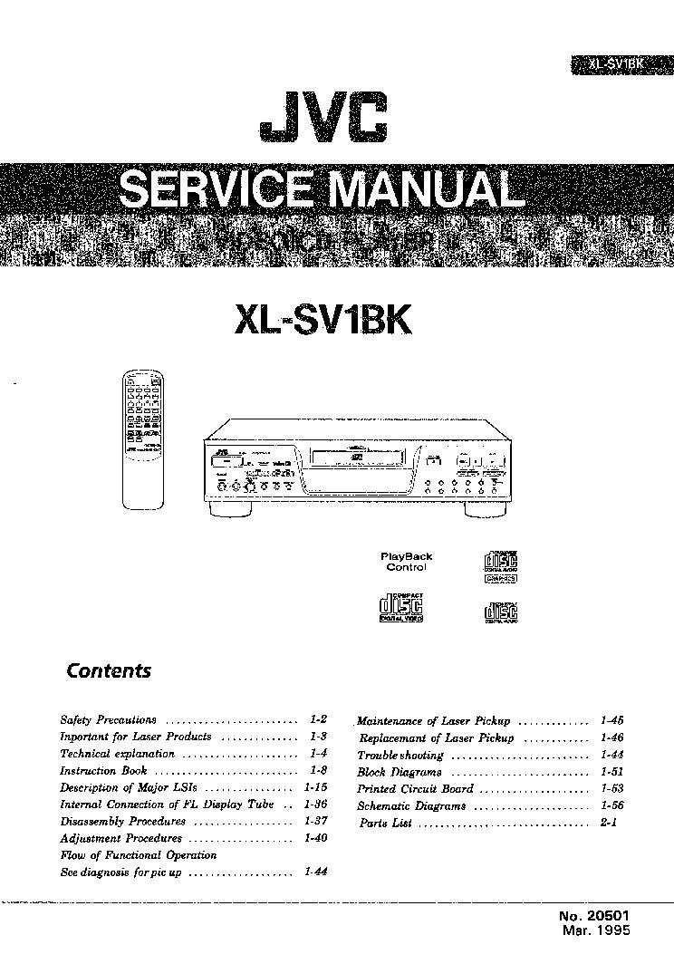 Jvc sl sv1bk vcd player service manual download schematics eeprom jvc sl sv1bk vcd player service manual 1st page ccuart Images