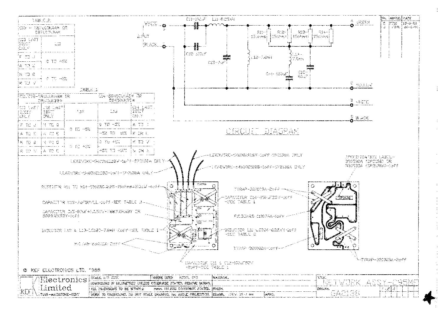 Kef C95 Manual