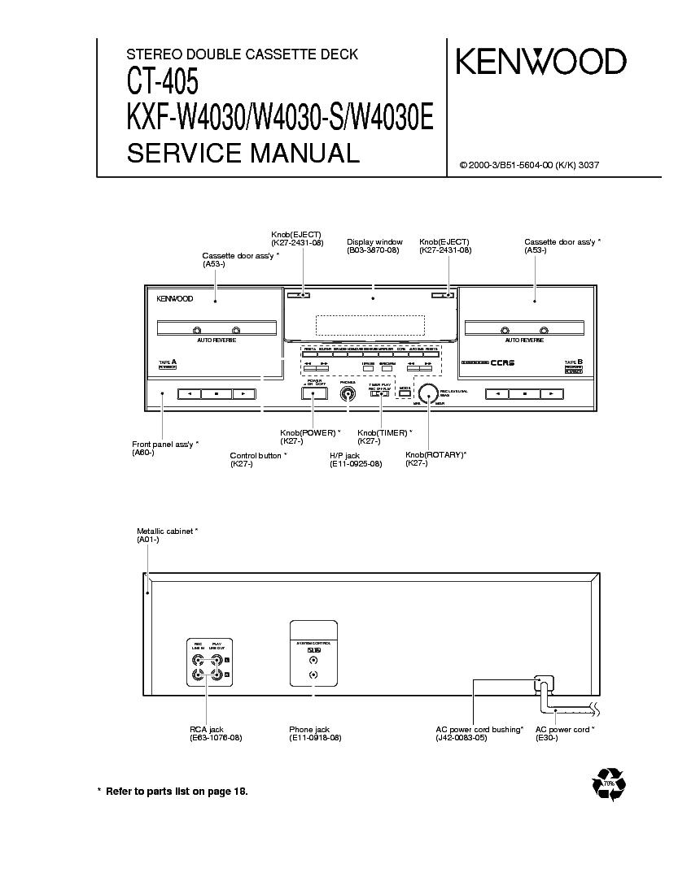 инструкция kenwood xd-853e