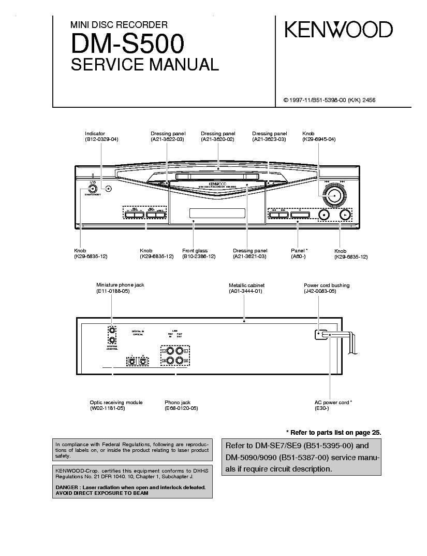 Kenwood Kr 790 Sch Service Manual Download Schematics Eeprom Radio Wiring Diagram