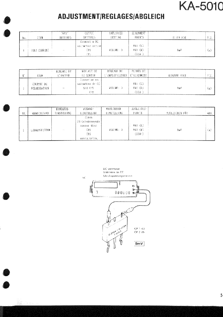KENWOOD KA-5010 SM service manual (2nd page)