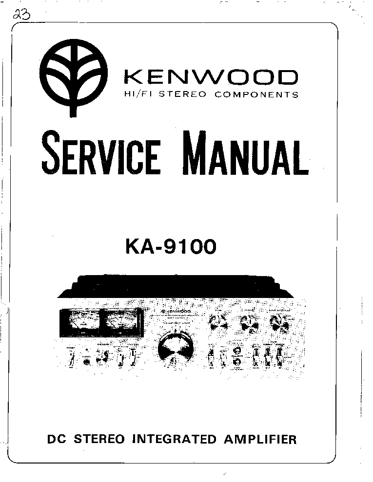 kenwood ka 9100 service manual download schematics eeprom repair rh elektrotanya com Kenwood KA 8100 Modifications Kenwood KA 9100 Craigslist