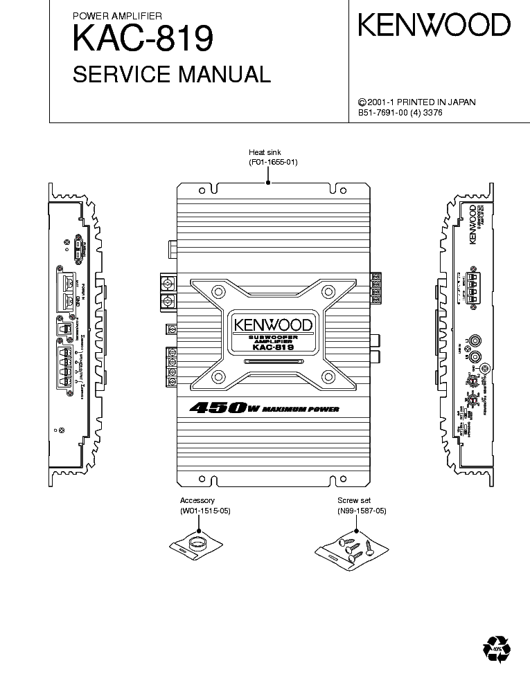 kenwood kac 819 service manual download schematics eeprom repair rh elektrotanya com