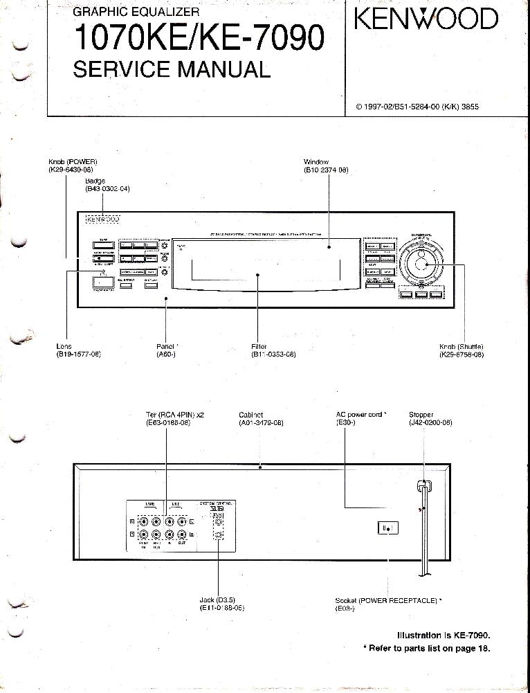 Инструкция kenwood ke-7090