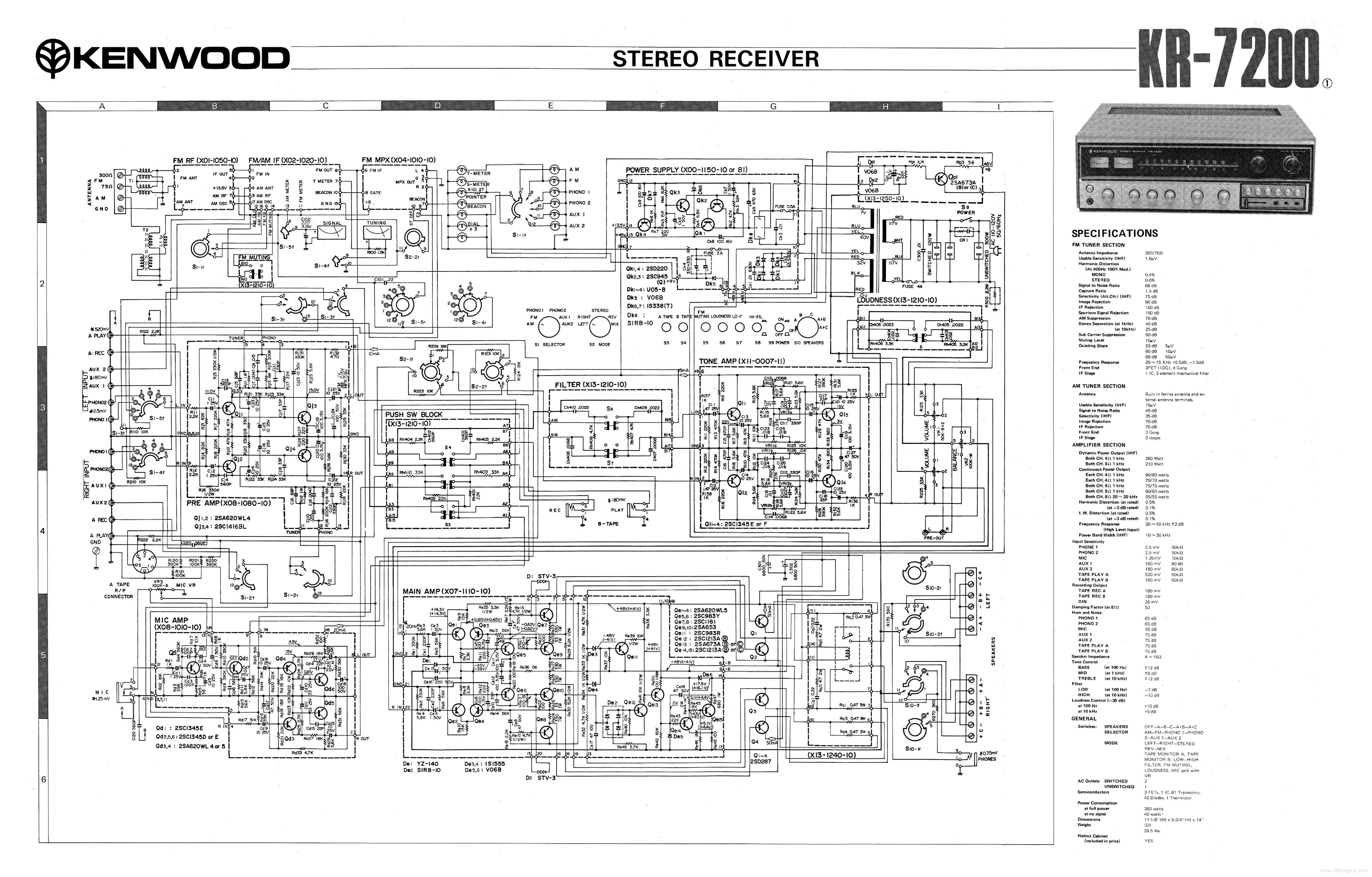 kenwood ks 203ht service manual download schematics eeprom repair rh elektrotanya com Pioneer Head Unit JVC Head Unit