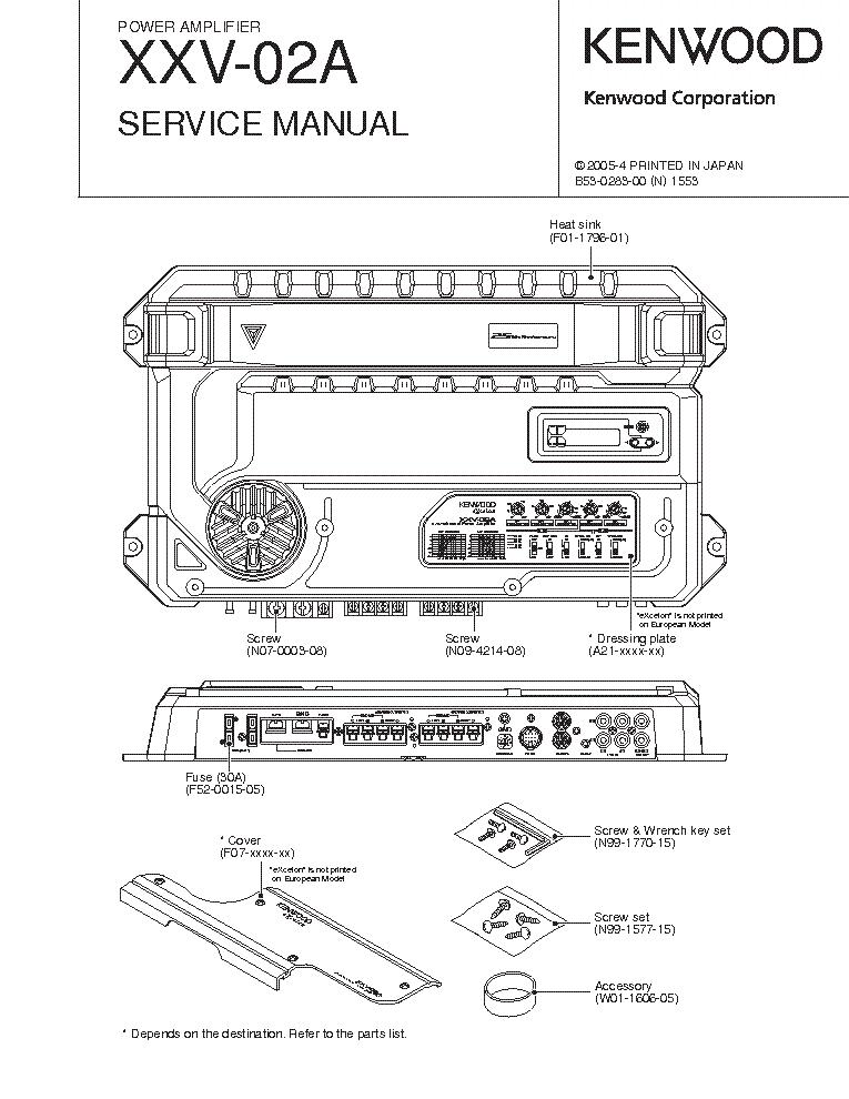 Kenwood 3090r manual on