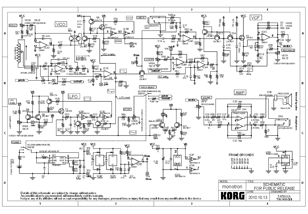 korg monotron service manual download  schematics  eeprom  repair info for electronics experts