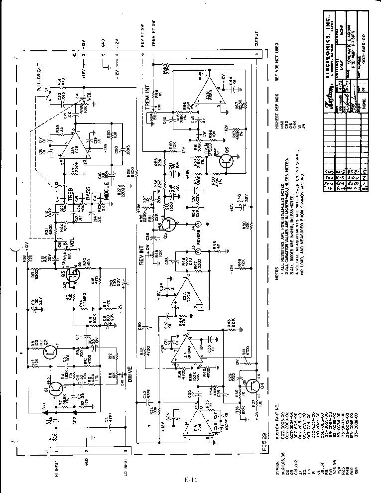kustom pc5065 power amp sch service manual download