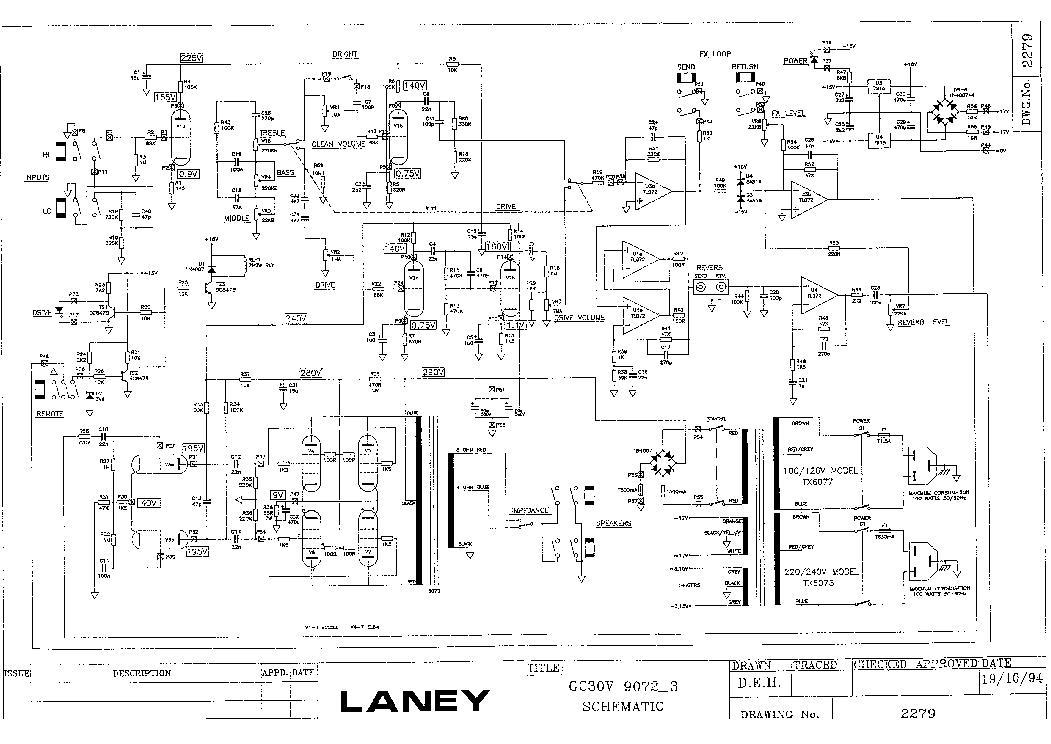 Laney vc30 schematic
