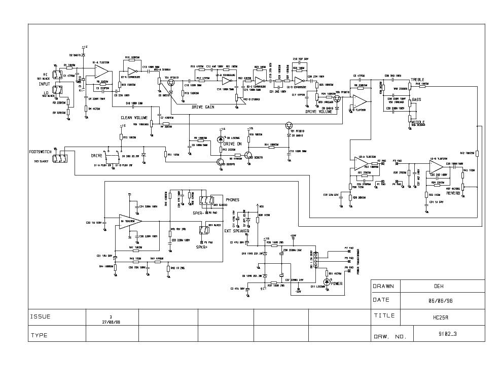 Laney Amp Schematics