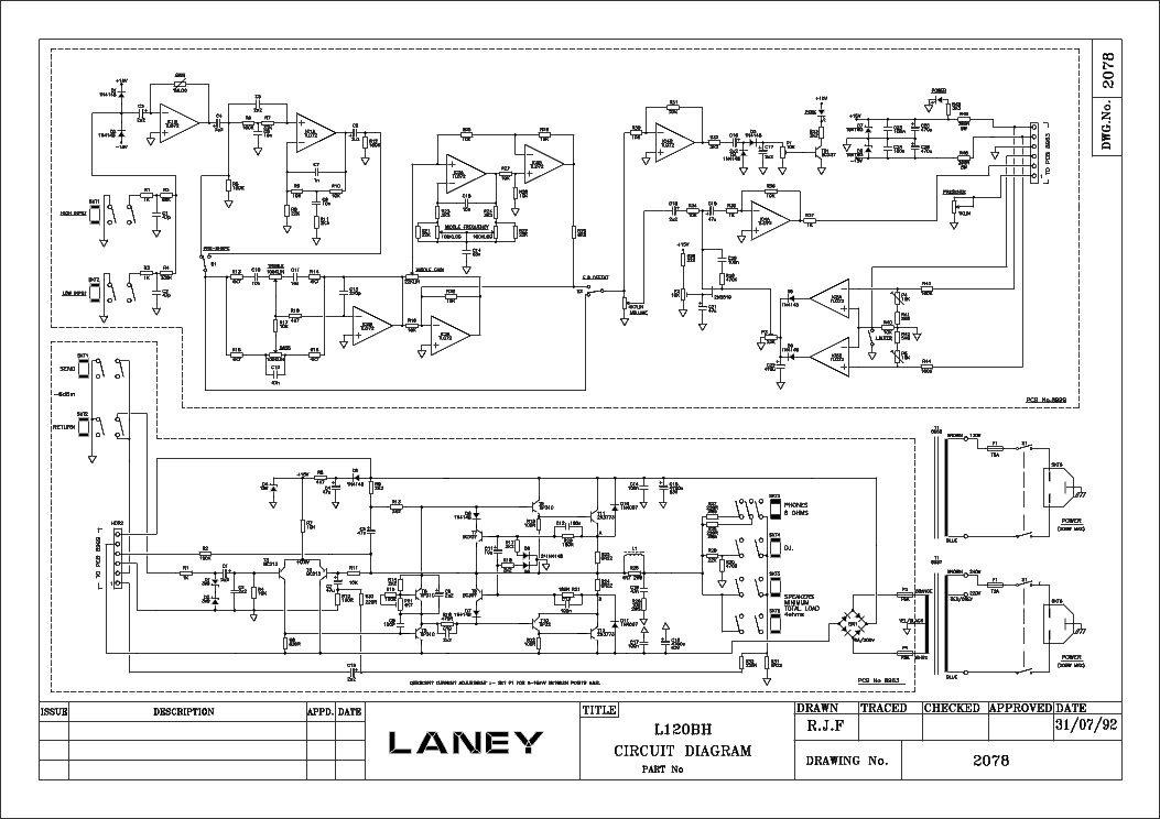 LANEY L120BH service manual (1st page)