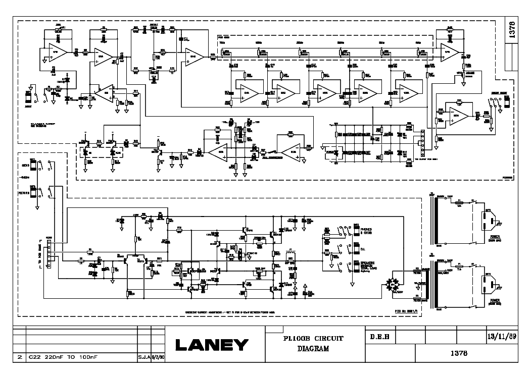 laney pl100b sch service manual download  schematics  eeprom  repair info for electronics experts