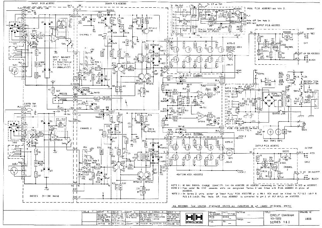 Peavey Amp Schematics
