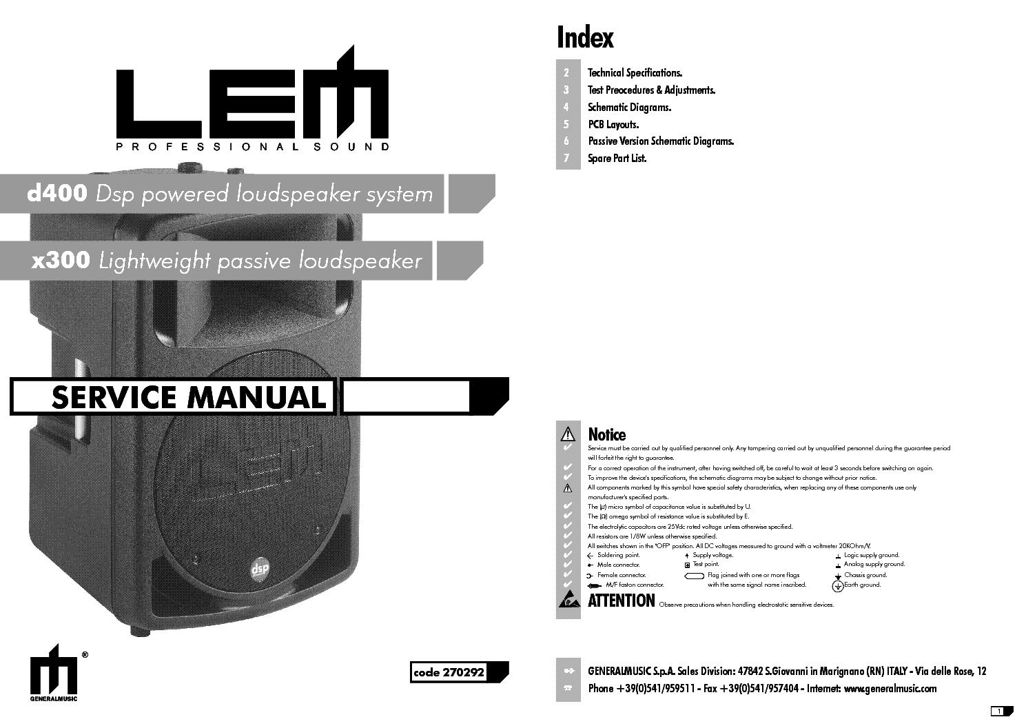 Lem D400 X300 Service Manual Download  Schematics  Eeprom  Repair Info For Electronics Experts