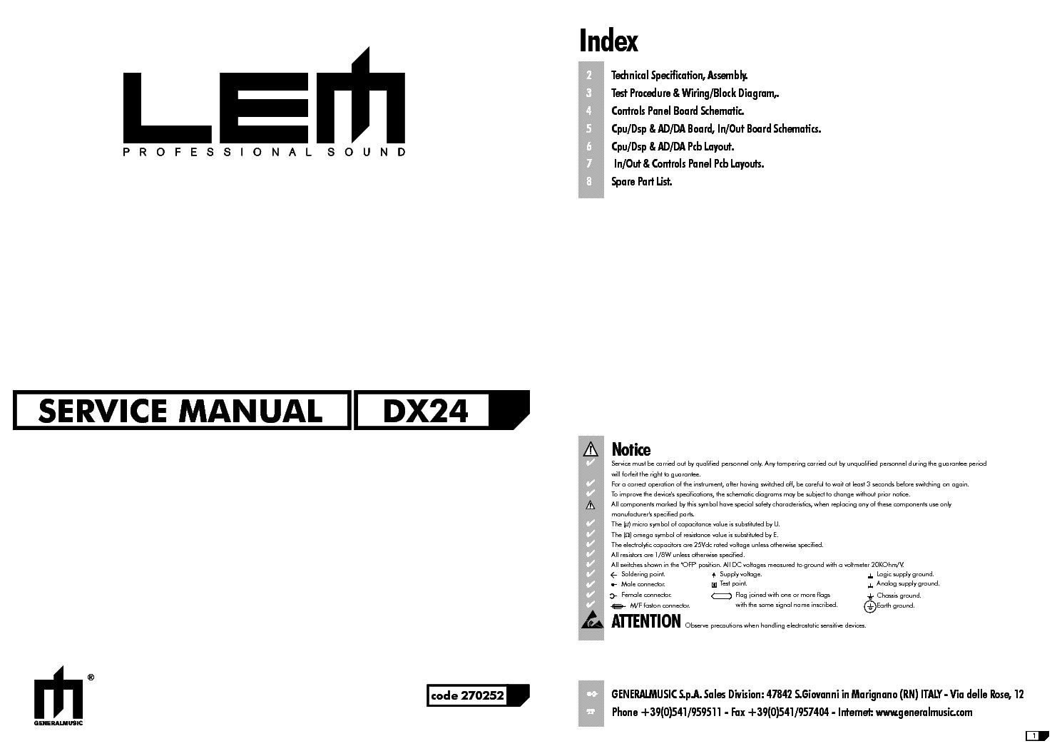 Lem d400 Manual