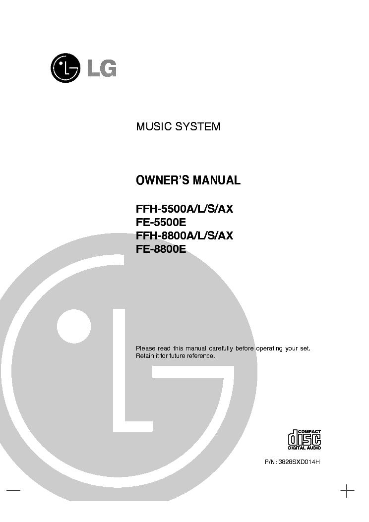 Ffh-868ax инструкция lg