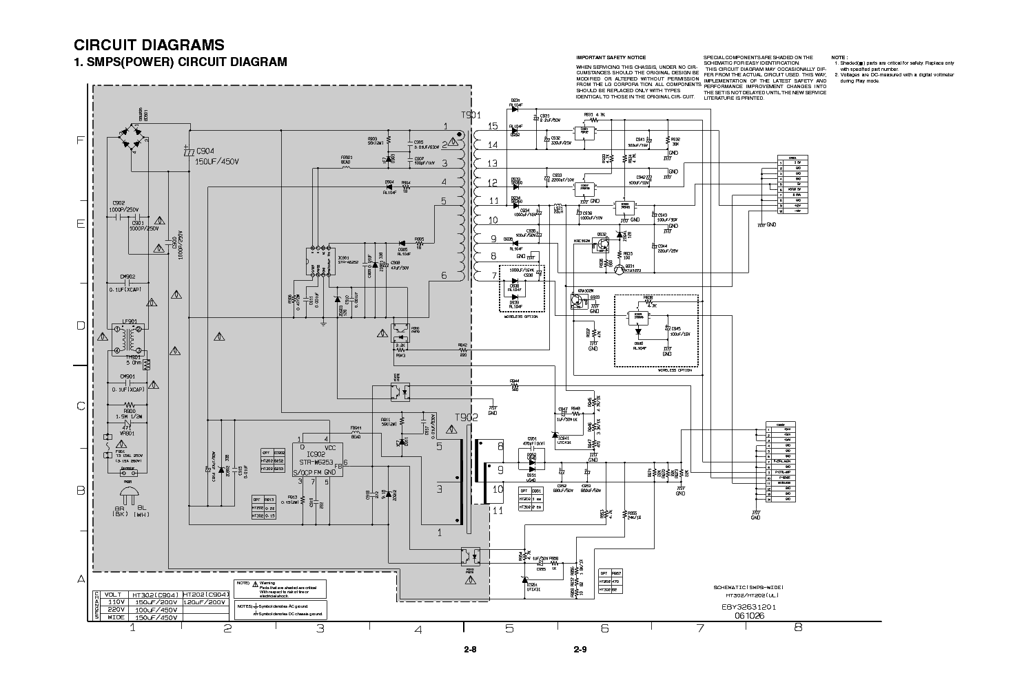 Luxury Smps Service Manual Sketch - Wiring Diagram Ideas - guapodugh.com