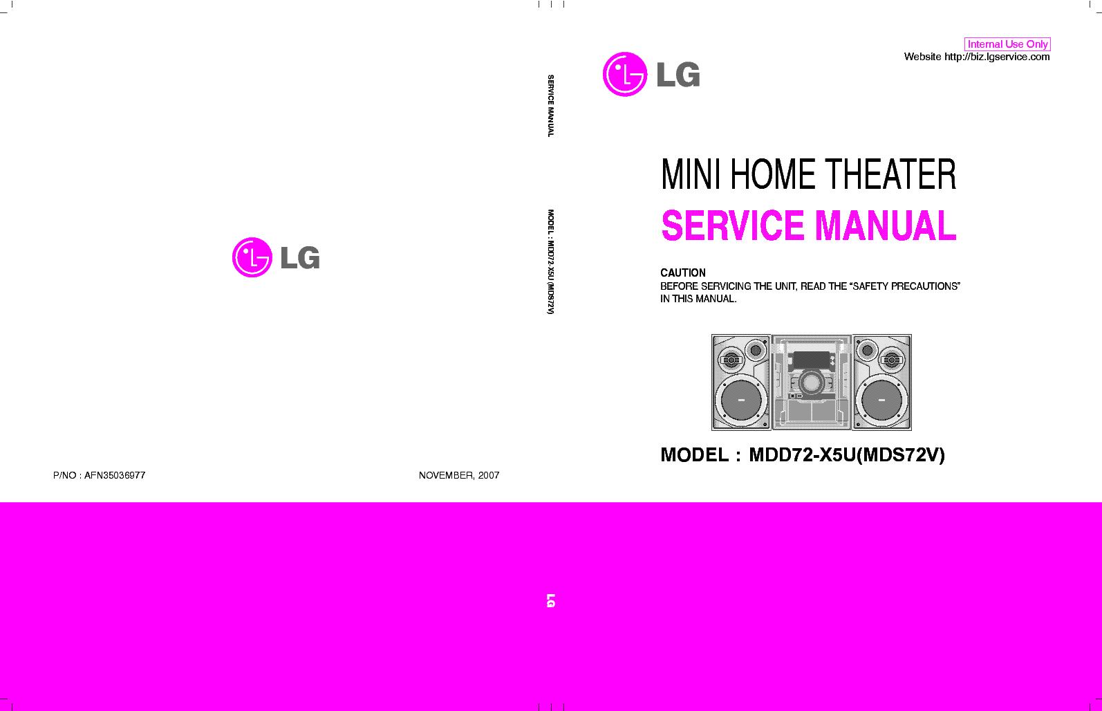 Lg Xc14 Xcs14f Sm Service Manual Download Schematics Eeprom Repair Info For Electronics Experts