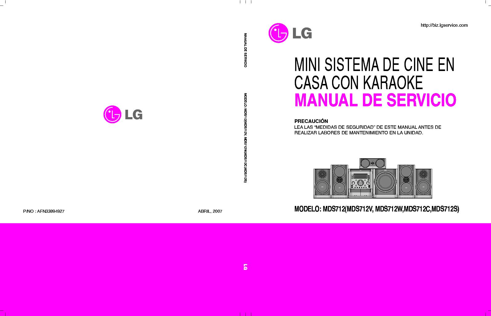 инструкция к lg cd 641 ax