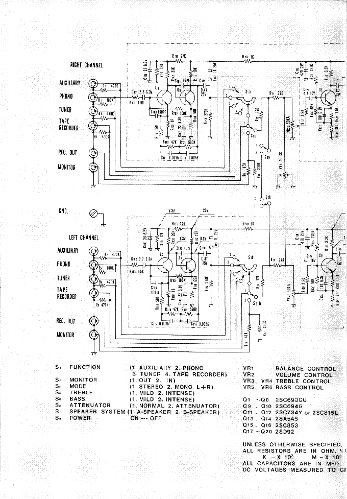 LUXMAN R117 Service Manual download schematics eeprom repair – Luxman Wiring Diagram