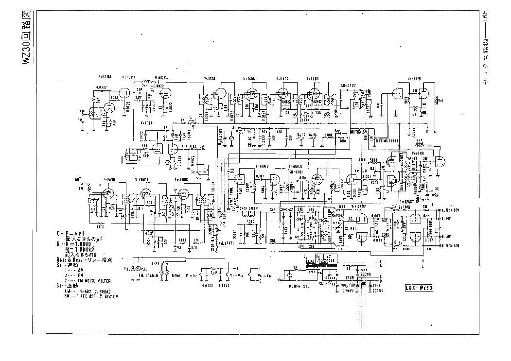 Luxman Sq507x Sch Um Service Manual Download  Schematics