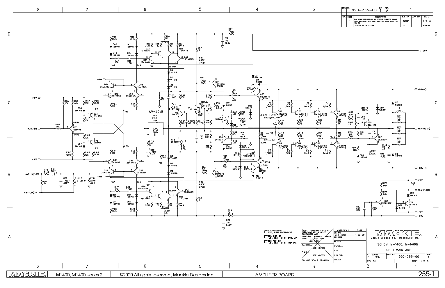 Equalizer Wiring Diagram Custom Project 2366b Coleman Mackie Mixer Schematic Circuit And Schematics Systems Auto Level