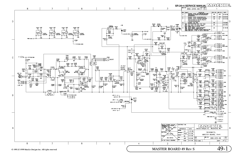 Mackie Amp Schematics | Wiring Diagram on