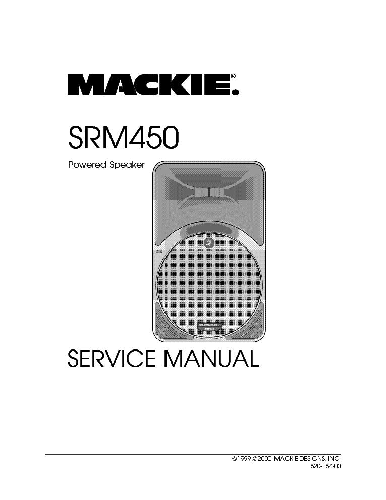 mackie srm450 service manual download schematics eeprom repair rh elektrotanya com mackie srm 450 v2 manual mackie srm 450 manual service