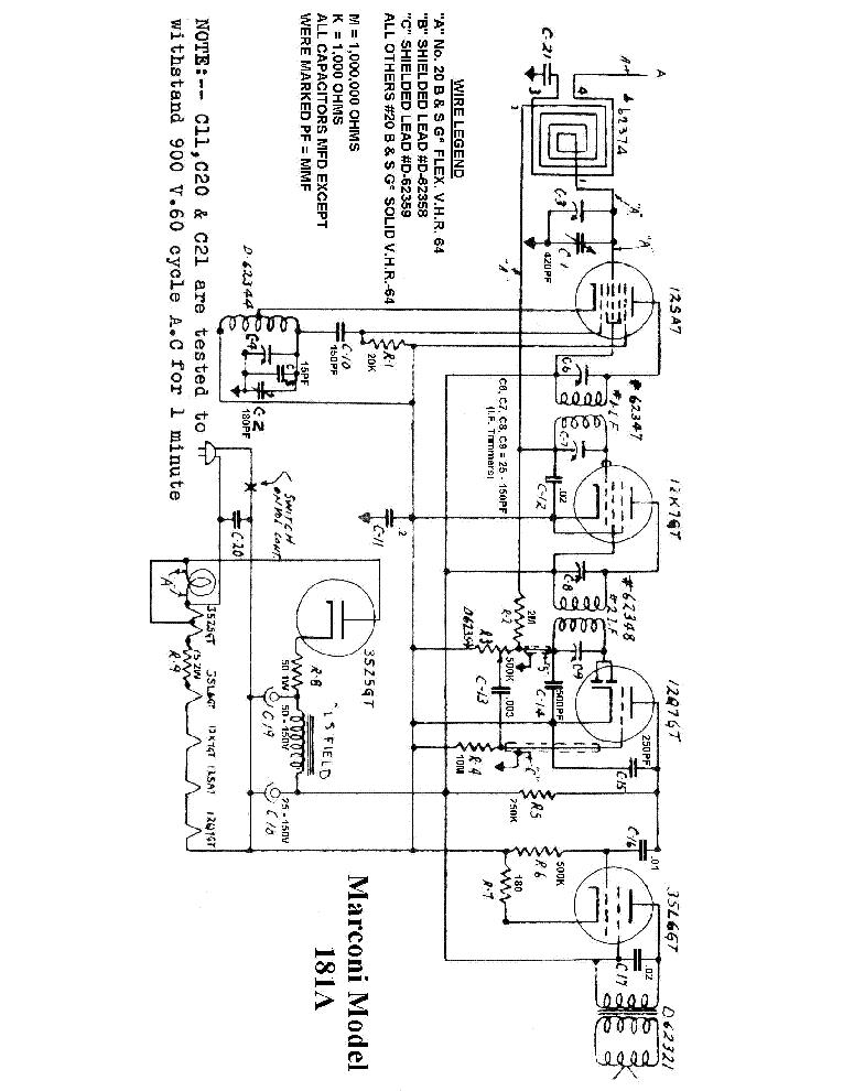 Marconi 181a Sm Service Manual Download Schematics Eeprom Repair