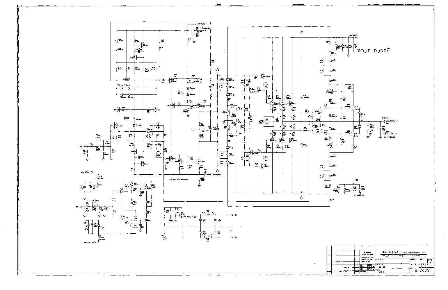 MARK-LEVINSON 29 service manual (1st page)