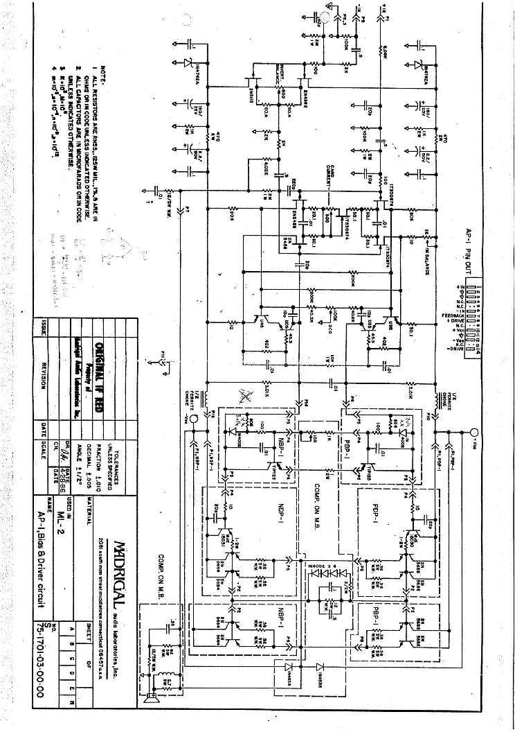 class a amplifier  topology