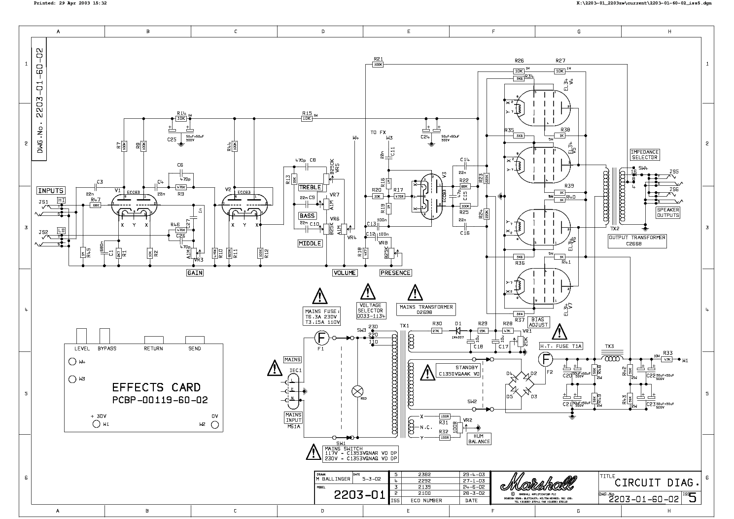 Marshall 2203 Wiring Diagram Search For Diagrams 1960a Jcm800 Master Volume Reissue Burnt Marshallforum Com 1960 Cabinets Jmp