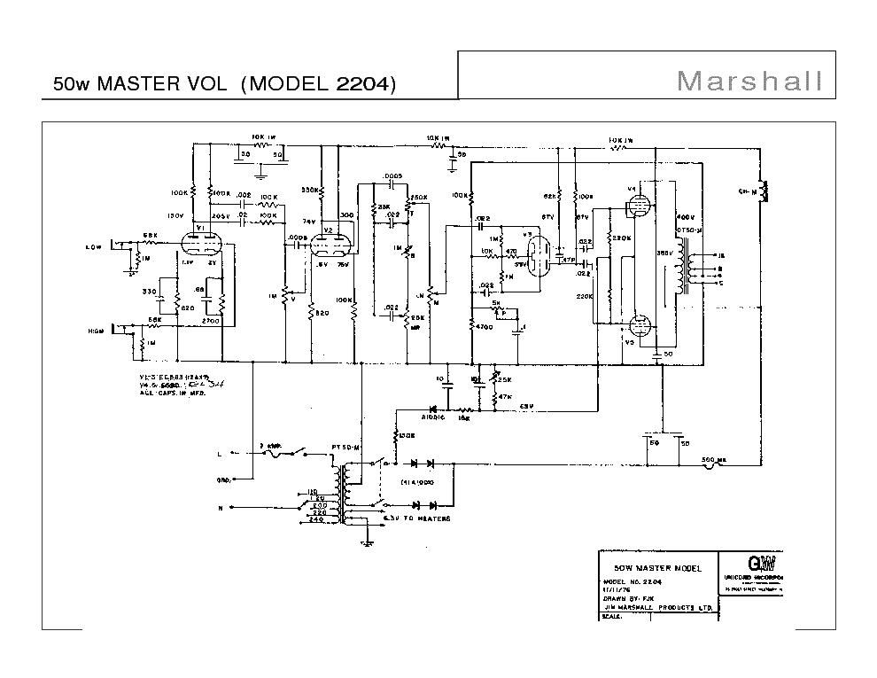Jcm 800 50w Schematic – Home Exsplore