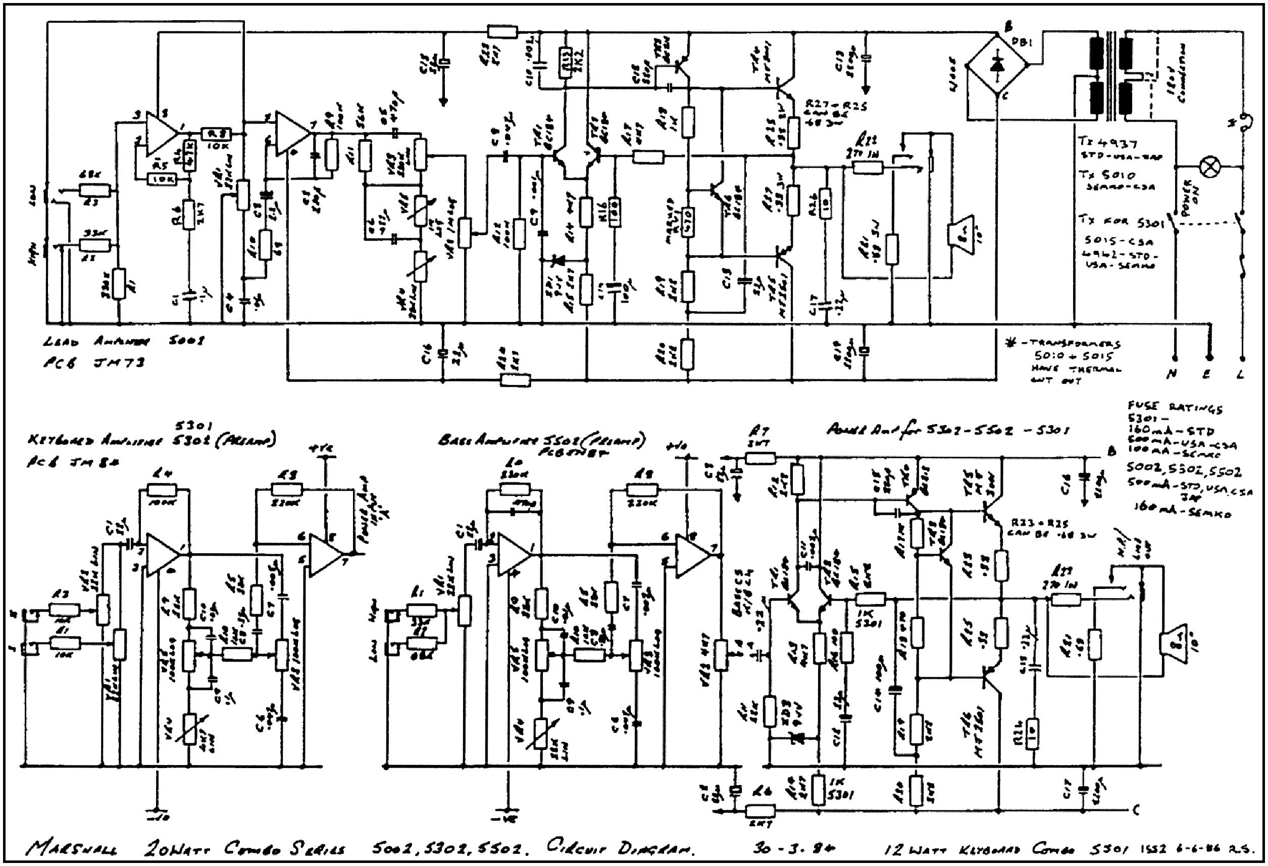 on marshall avt 2000 wiring diagram